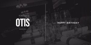 OTIS Birthday Gift Card