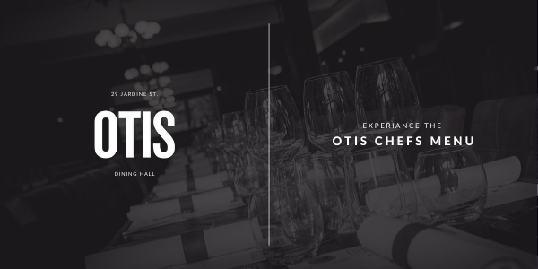 OTIS CHEFS MENU GIFT CARD